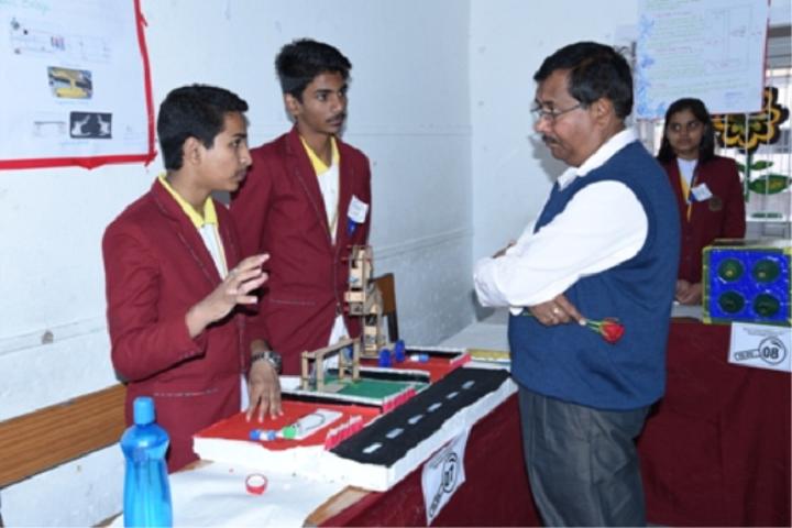 D A V Public School-Science-Exhibition