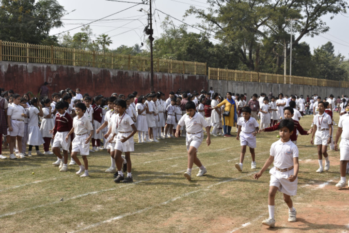 D A V Public School-Sports Day