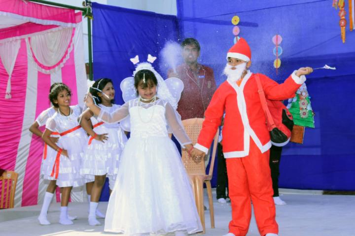D A V Public School - Christmas celebrations