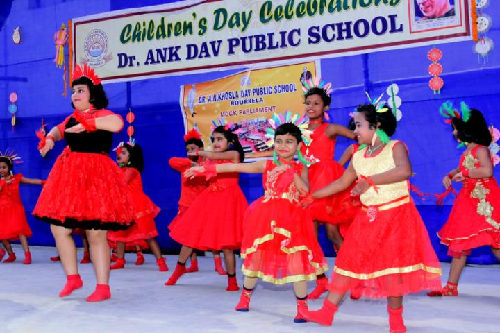 D A V Public School - Dance