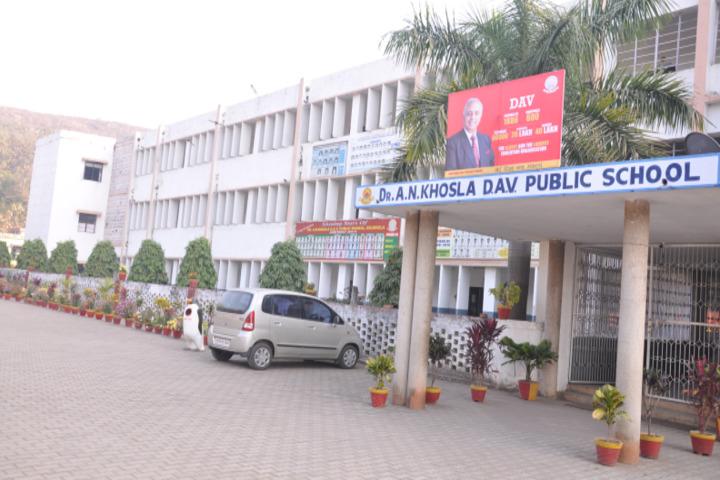 D A V Public School - School Entrance