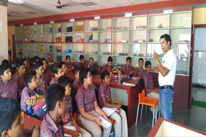 D A V Public School-Laboratory