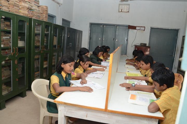 D A V Public School - Library