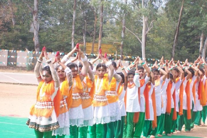 Dav Public School-Independence Day Celebrations