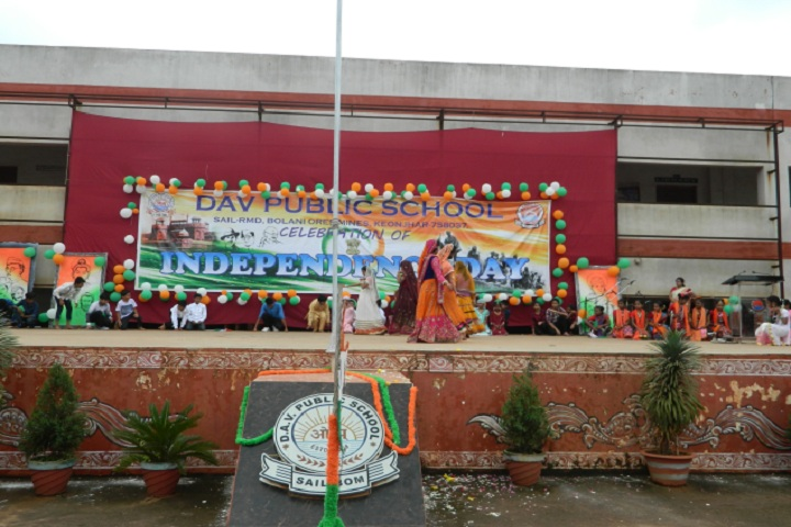 Dav Public School-Independence day Celebrations