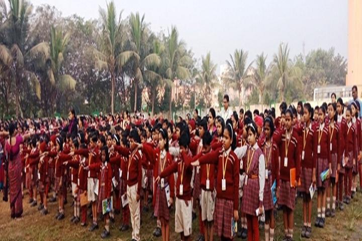Dav Public School-Morning Assembly