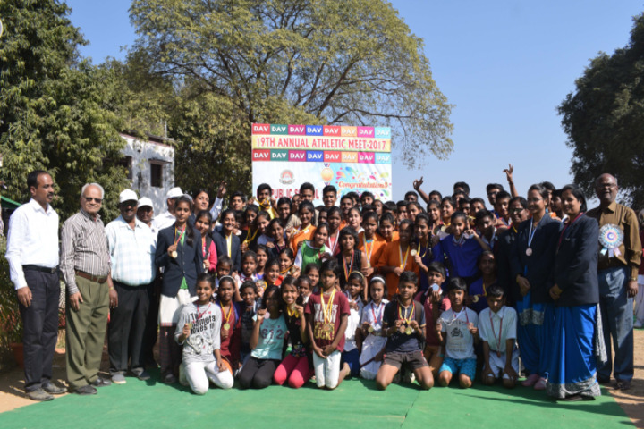 DAV Public School - Annual Athletic Meet