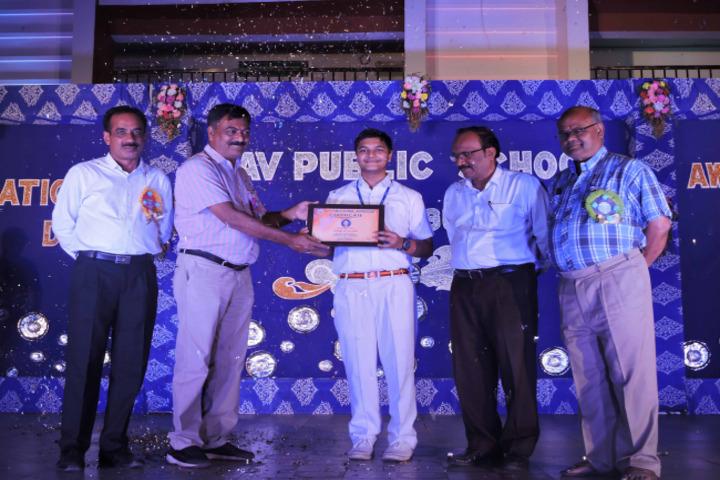 DAV Public School - Certificate