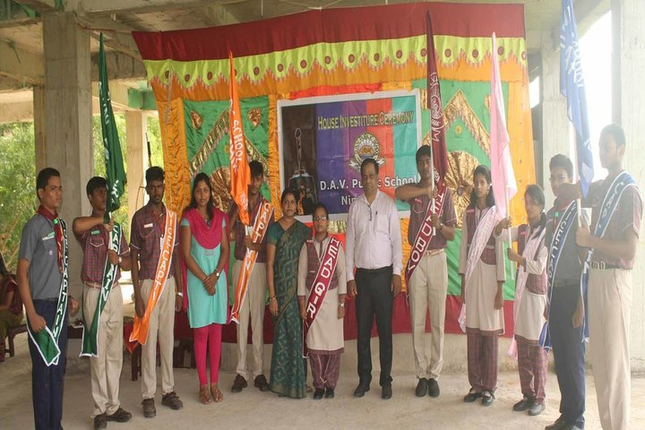 DAV Public School - House Investiture Ceremony