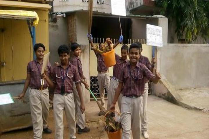 DAV Public School - Swachh bharath