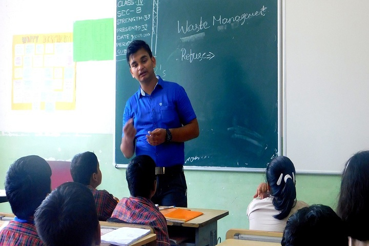 DAV Vedanta International School-Class Room