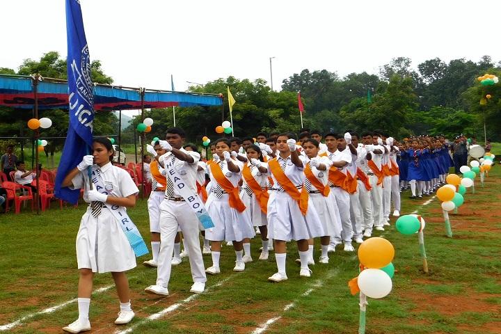 DAV Vedanta International School-March past