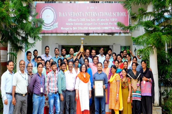 DAV Vedanta International School-Excellence Award