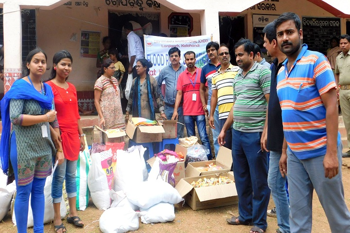 DAV Vedanta International School-Flood Relief Team