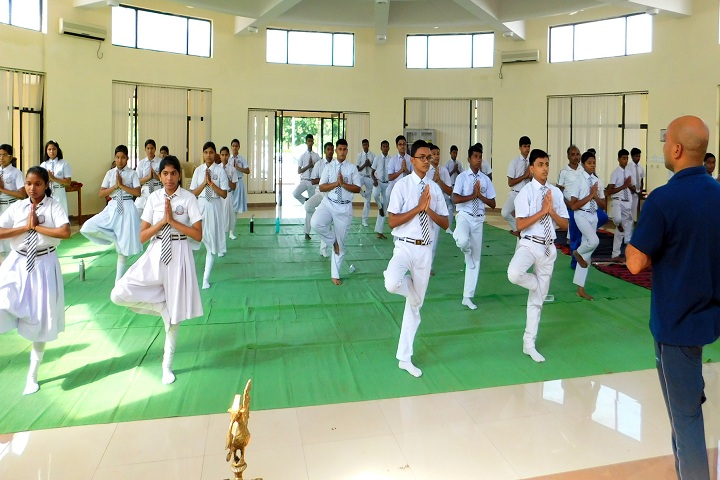 DAV Vedanta International School-Yoga Classes