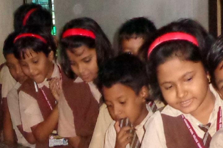 De-Paul School-Students of De-Paul School