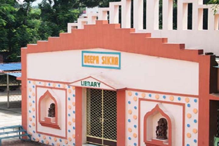 Deepika English Medium School-Library