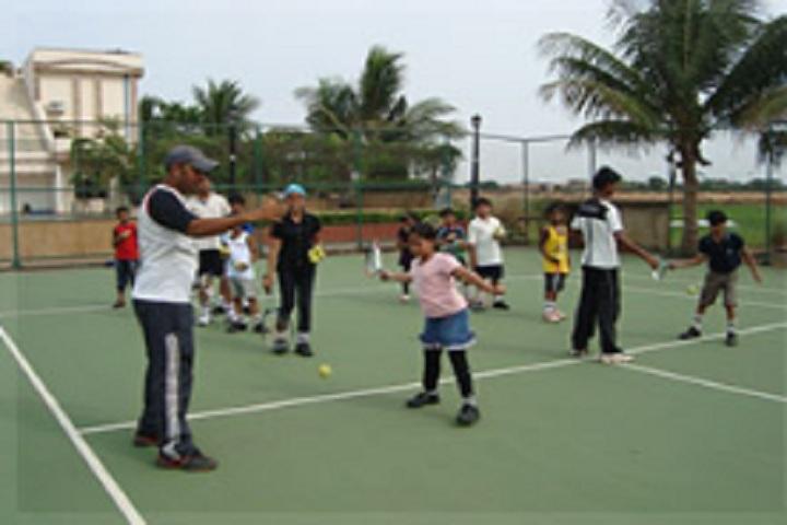 Delhi Public School-Tennis Court