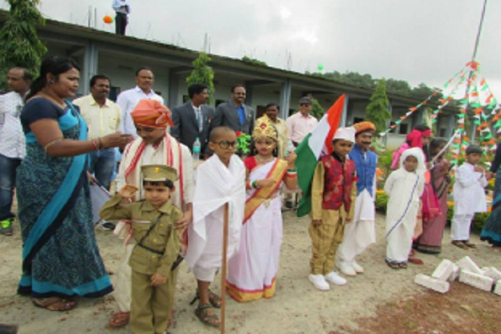 Deomali Public School, Beheraguda-Independance day events