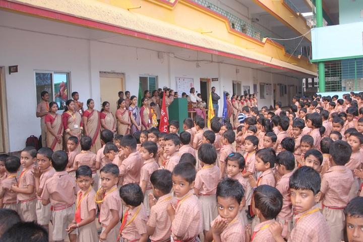 Dr Dev Mohanty Public School-Prayer Assemble
