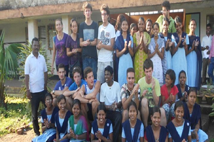 Eklavya Model Residential School-School Students