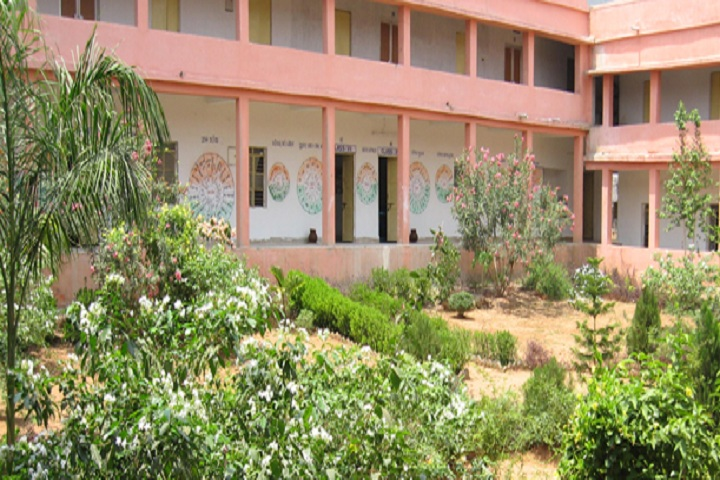 Eklavya Model Residential School-Inside schoo view