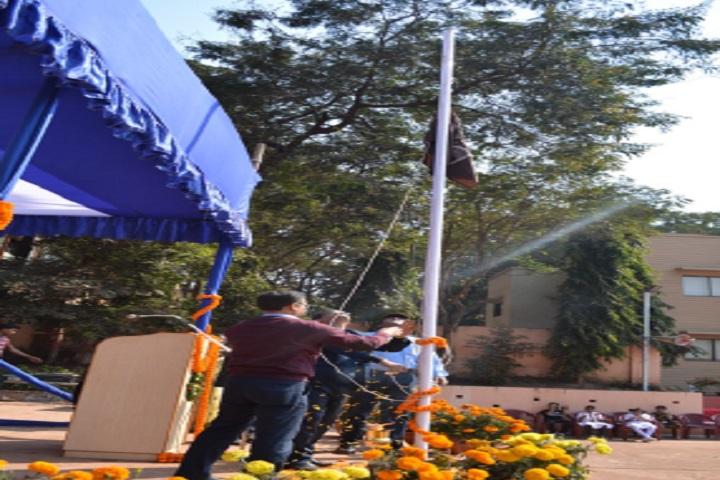 Emil DAV Public School-Flag Hoisting
