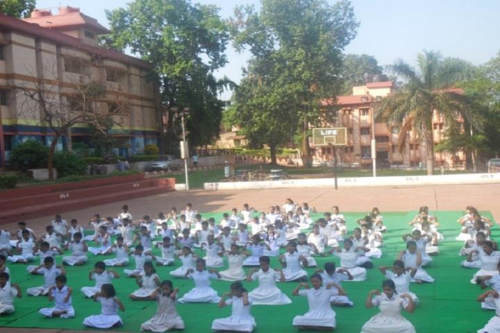 Emil DAV Public School-Yoga Day Celebrations