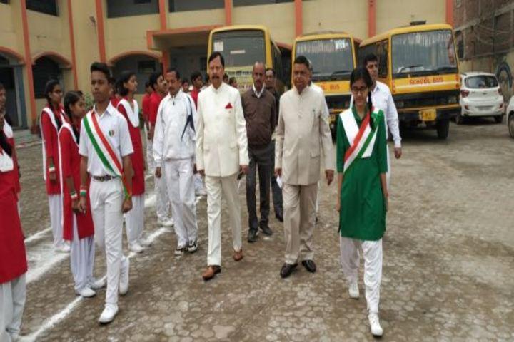 Dr Dukhan Ram Dav Public School-March Past