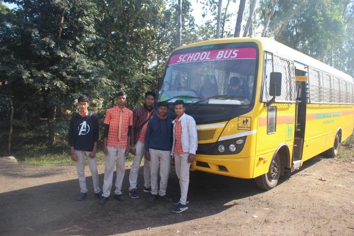Green Field School-Bus