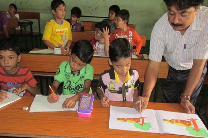 Gurukul Public School-Drawing Competition