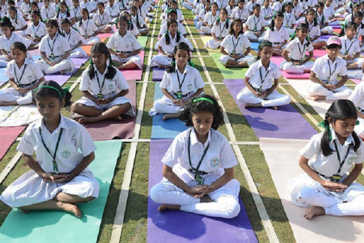 Gurukul Public School-Yoga Day