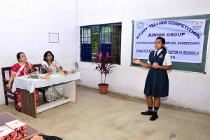 Gyanajyoti Public School-Story Telling Competition