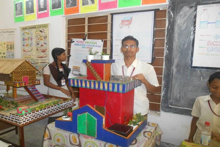 Hariharananda Balashram-Science Exhibition