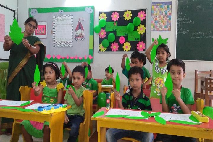 Hi Tech Public School-Classroom
