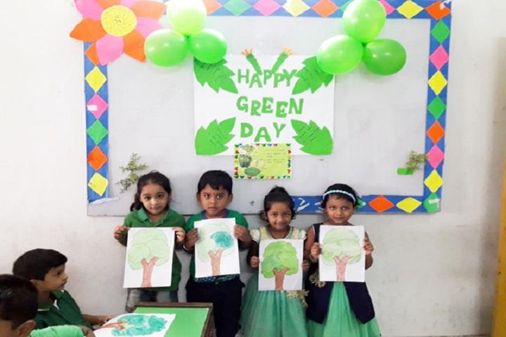 Hi Tech Public School-Green Day