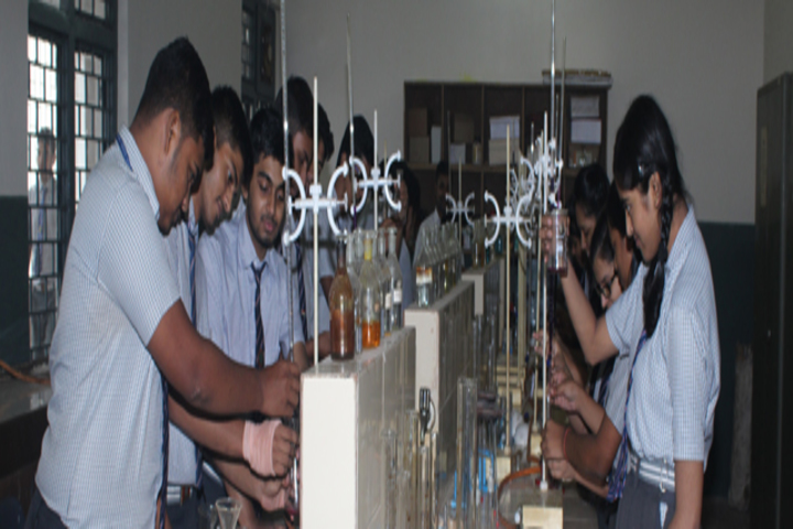 Jindal English Medium School-Chemistry Lab
