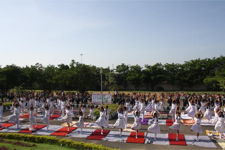 Jindal English Medium School-Yoga