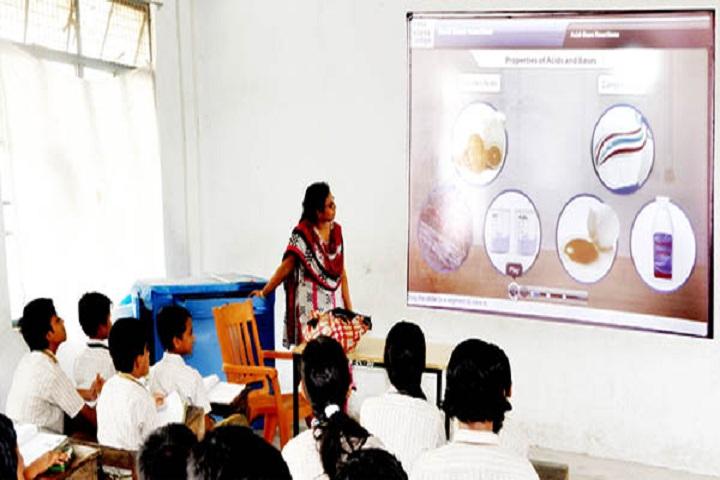 Johari Mall High School-Digital Classroom