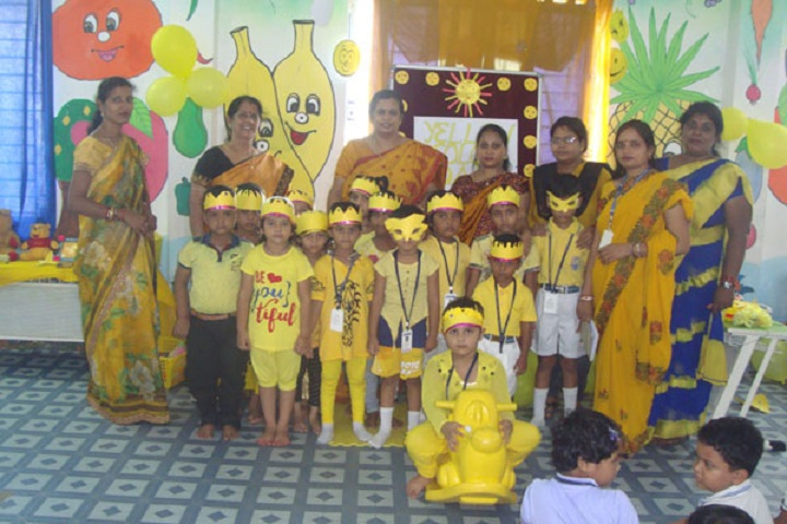 Jupiter Public School-Yellow Day