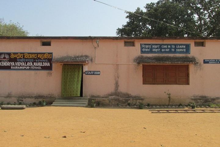 Kendriya Vidyalaya-School Staff room