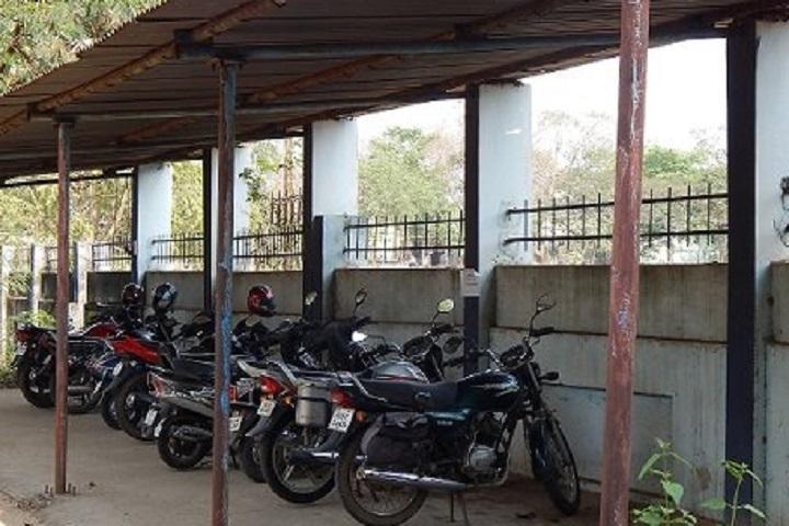 Kendriya Vidyalaya-Two Wheeler parking
