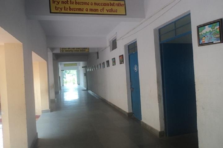 Kendriya Vidyalaya-Vidyalaya corridor