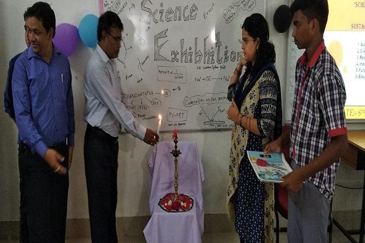 Kendriya Vidyalaya-Lighting The Lamp