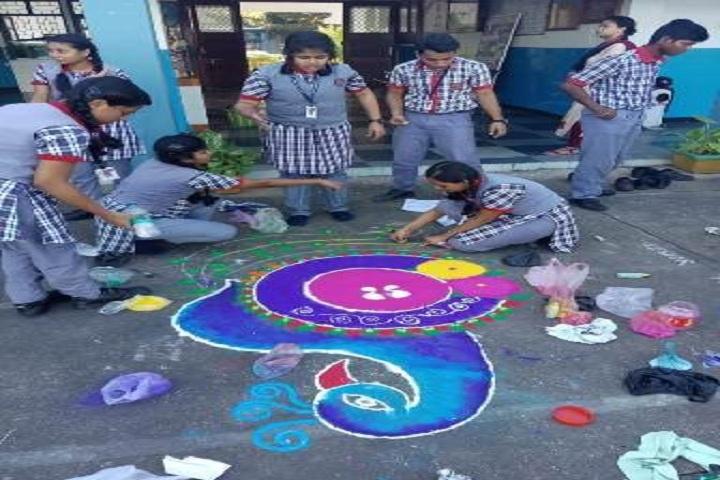 Kendriya Vidyalaya-Rangoli