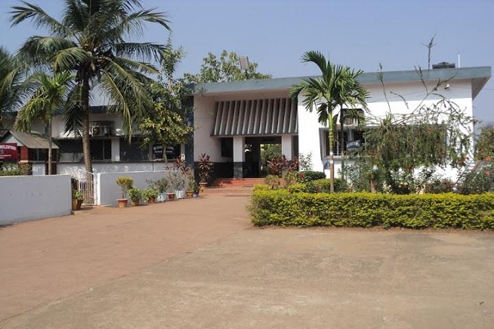 Kendriya Vidyalaya-Main Building Entrance