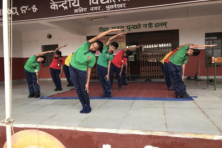 Kendriya Vidyalaya No 5-Yoga Day