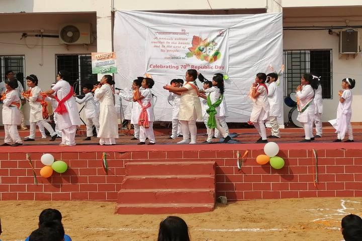 Krishnamurty World School-Dance