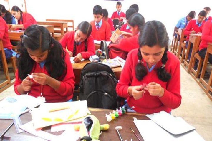 Lakshmipat Singhania Public School-Art Craft