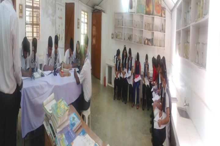 Lakshmipat Singhania Public School-Biology Lab